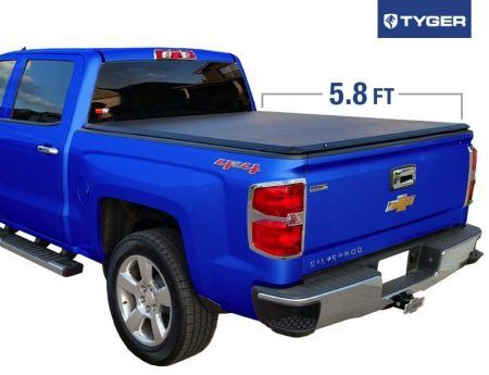Tyger Auto Tg Bc3c1006 Tri Fold Tonneau Bed Cover Truck Bed Covers Best Truck Bed Covers Cool Trucks