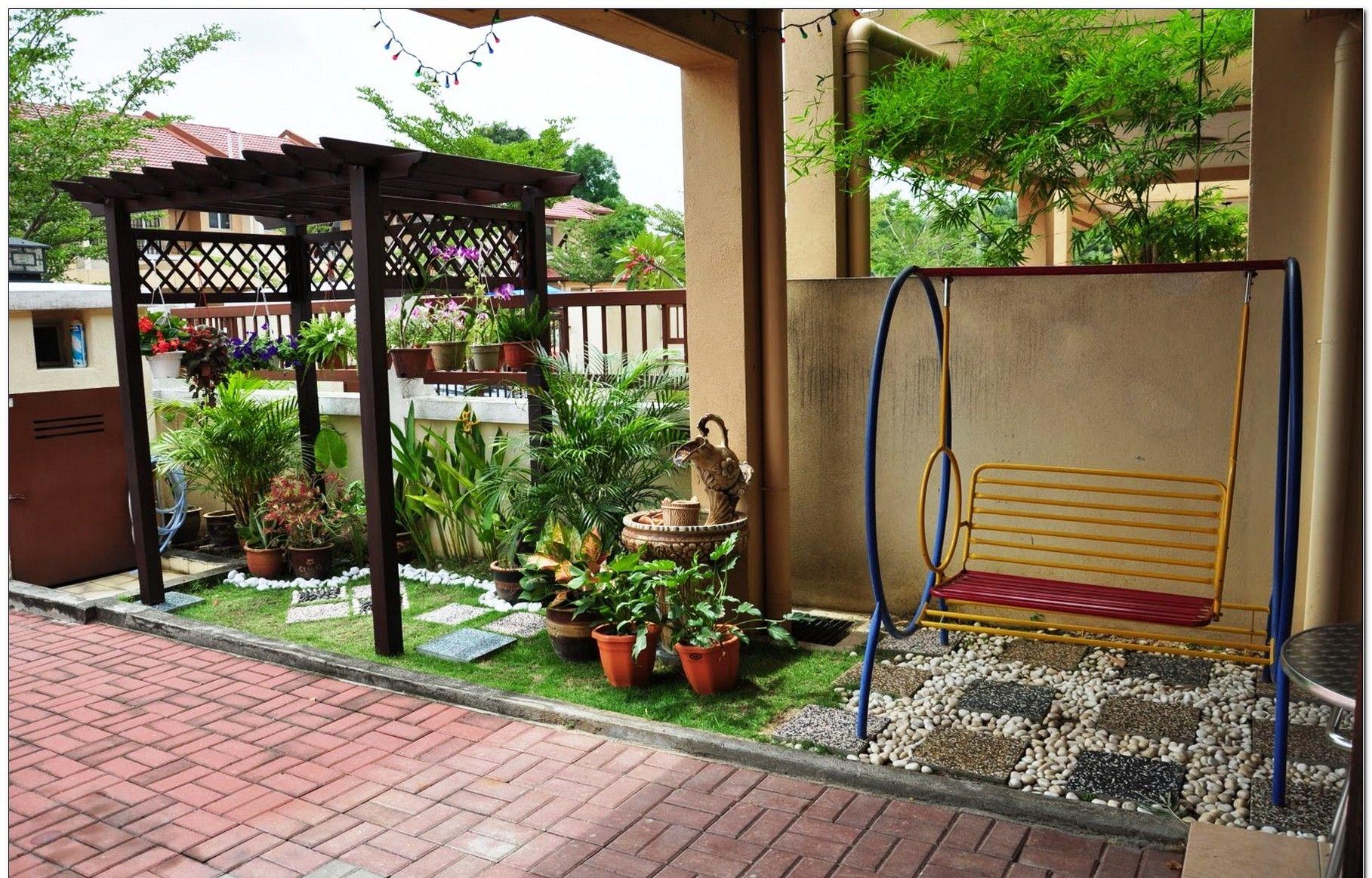 Taman Bunga Mini Depan Rumah Ideku Unik