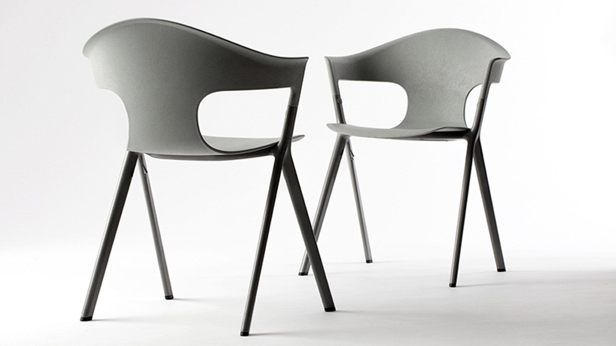 Benjamin Hubert Uses Recycled Aluminium Wood And Nylon To Create  # Muebles Sedutti