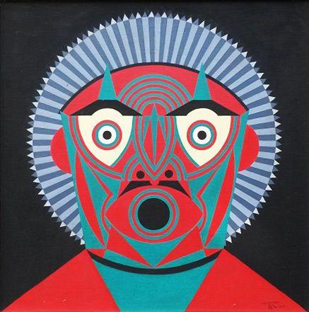 Roberto Magalhães, Máscara verde , Referência Galeria de Arte