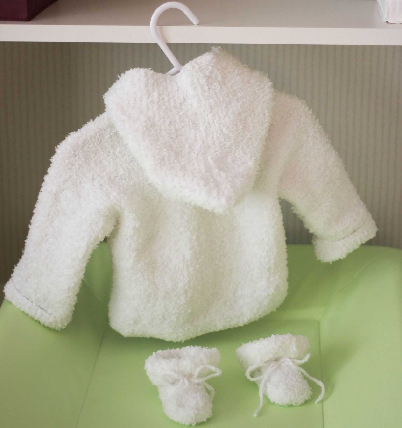 photo patron tricot gratuit layette