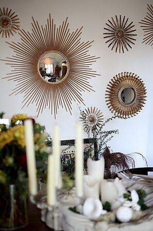 Simple Lovely Our Dining Room A Winner Mirror Decor Sunburst Mirror Mirror Wall