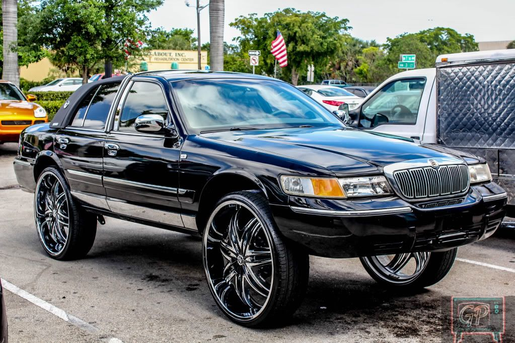 Wheels For All Cars Donk Cars Grand Marquis Custom Cars