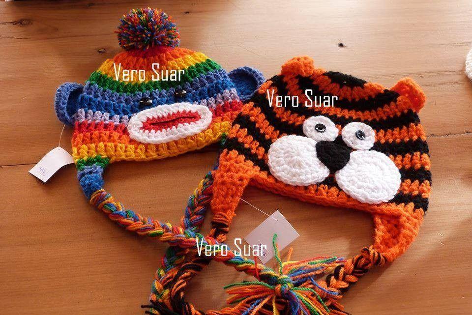 0395aaad14546 Gorros Tejidos Al Crochet Niños - Bebes - Mas De 700 Modelos -   170 ...