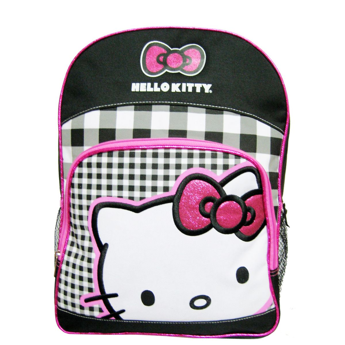 d2e13271d846 Description Official Licensed 16 inch Backpack Featured with Hello Kitty  Character Measurement  x x 1 Zippered Main Compartment 2 Side Mesh Pockets  1 Front ...