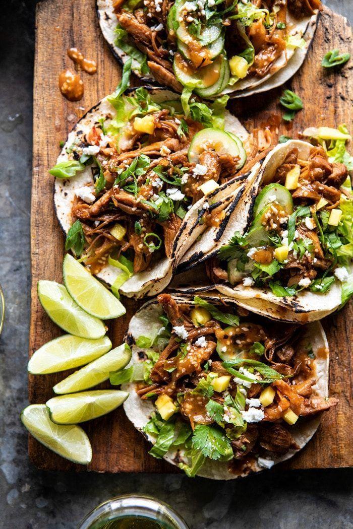 Instant Pot Korean Bulgogi BBQ Tacos. - Half Baked Harvest ...