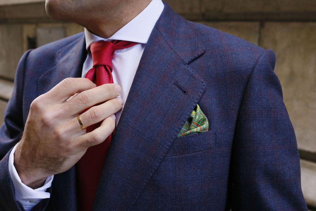 Tirantes Verde Corbata Complementos Pañuelo 02 Azules Roja Topos qzgKwfX4