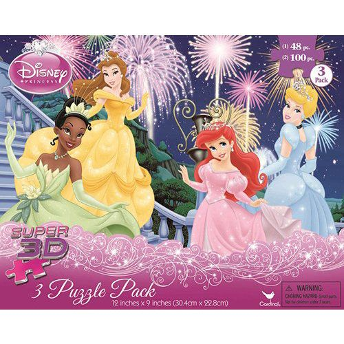 Disney Princess 3D 3in1 Puzzle 3d puzzles Disney disney and