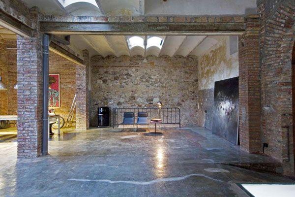 Modern loft living in Barcelona