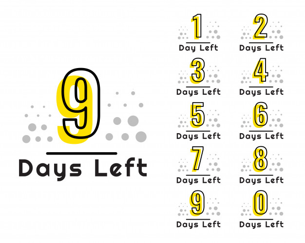 Download Number Of Days Left Countdown Timer for free in