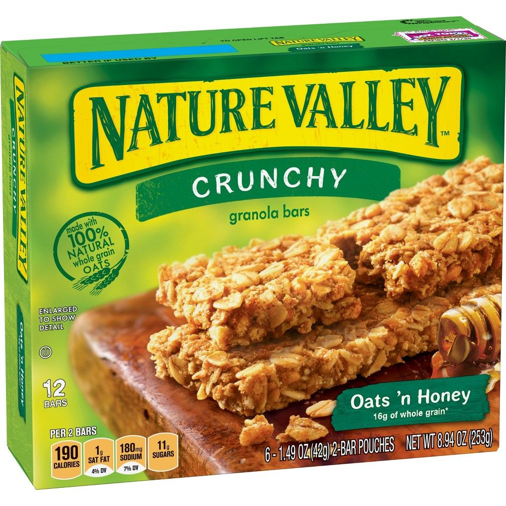 Nature Valley Crunchy Oats N Honey Granola Bars 6ct Nature Valley Crunchy Granola Bars Nature Valley Granola Honey Granola