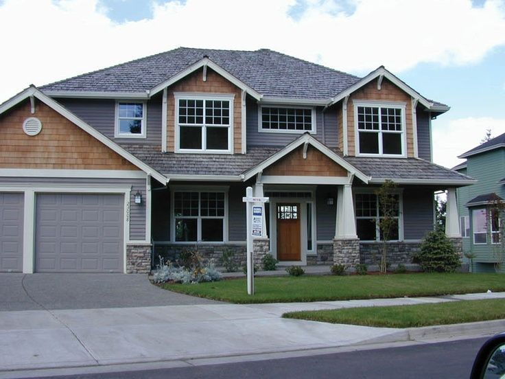 Blue house with cedar shake accents yahoo search results for Cedar shake house plans