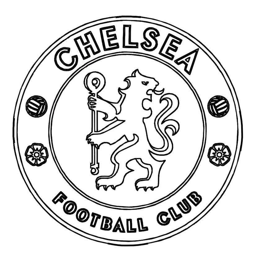 soccer logos coloring pages and print for free
