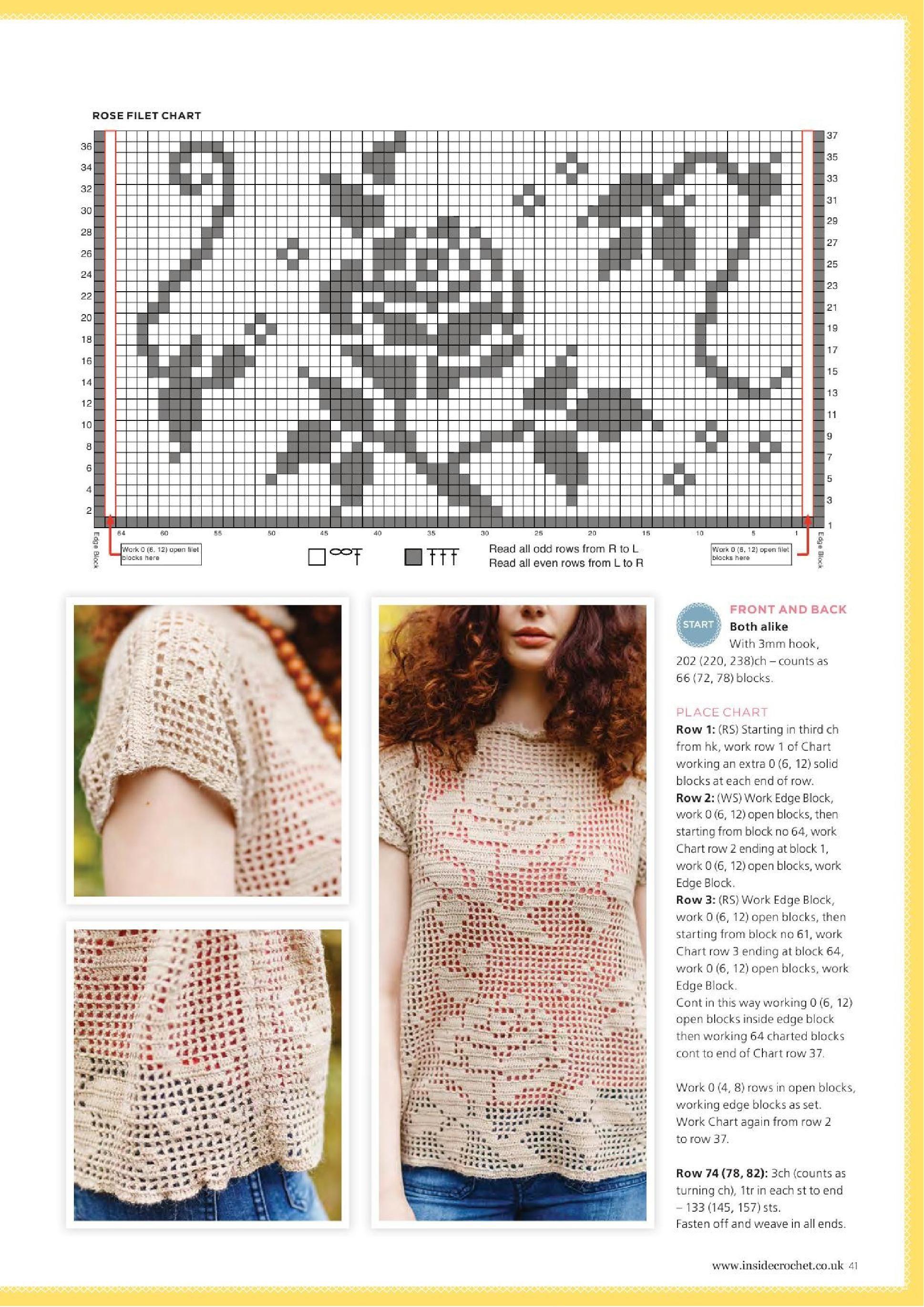 ◇◇◇ Page_00041.jpg | Cool Beans | Pinterest | Túnicas, Blusas y ...