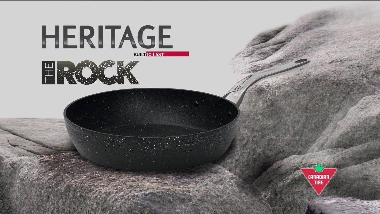 Heritage rock nonstick cookware heritage pan rock