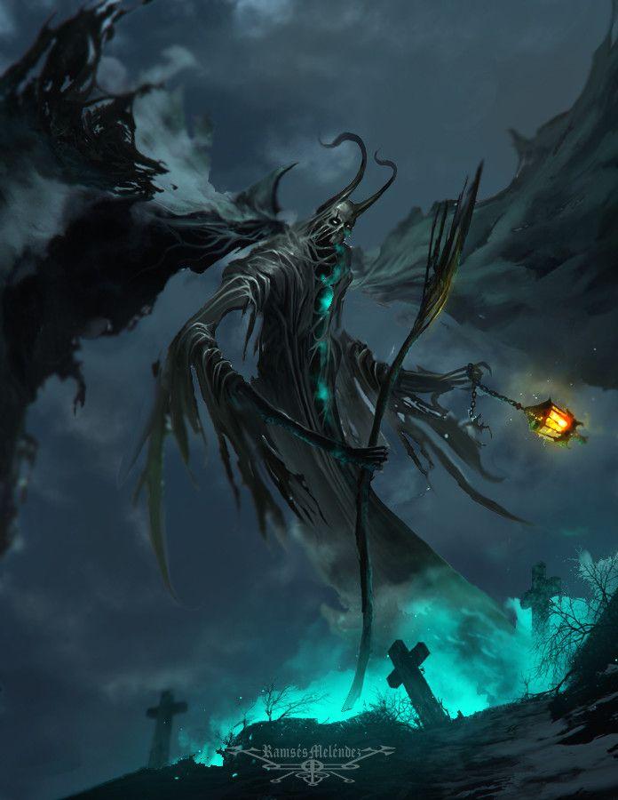 Diabolical Shadows – horror concept by Ramses Melendez