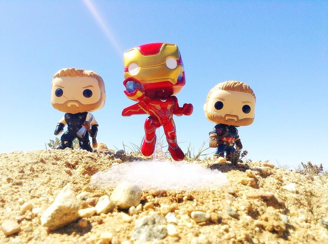 Thor Iron Man Captain America Who S Ready For Infinity War Funkopop Tcb Infinitywarbegins Tfp Backingup Funko Pop Vinyl Overwatch Funny Marvel Wallpaper