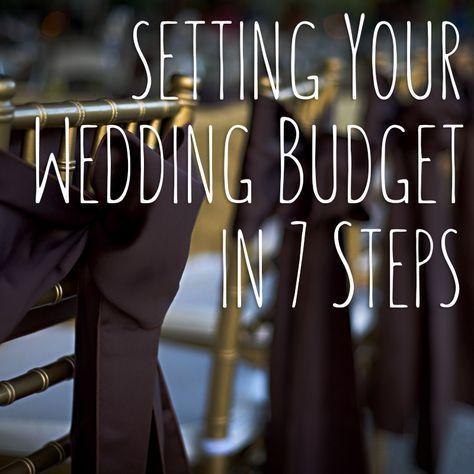Budgeting 101 Wedding and Wedding