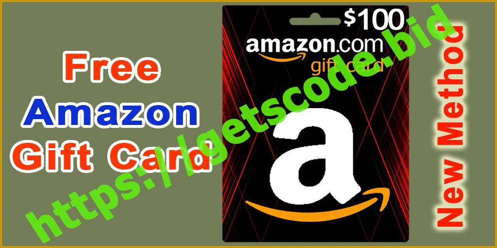 How To Get Amazon Gift Cards Free Amazon Gift Card Codes Amazon Gift Card Free Free Amazon Products Amazon Gifts