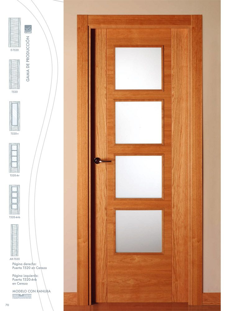 Puertas interior de madera precios inspiraci n de dise o - Puertas en madera para interiores ...