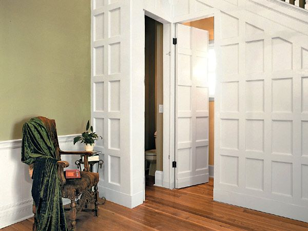 Stairways particularly in older homes can be some of the for Secret door ideas
