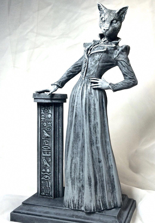 Lady Bast Statue #greekstatue