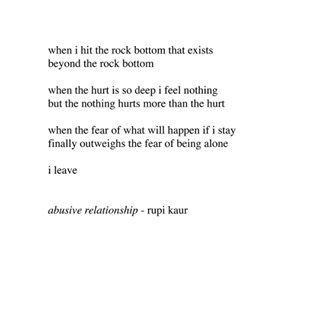 Rupi Kaur Short Poems Abuse Quotes Rupi Kaur Quotes