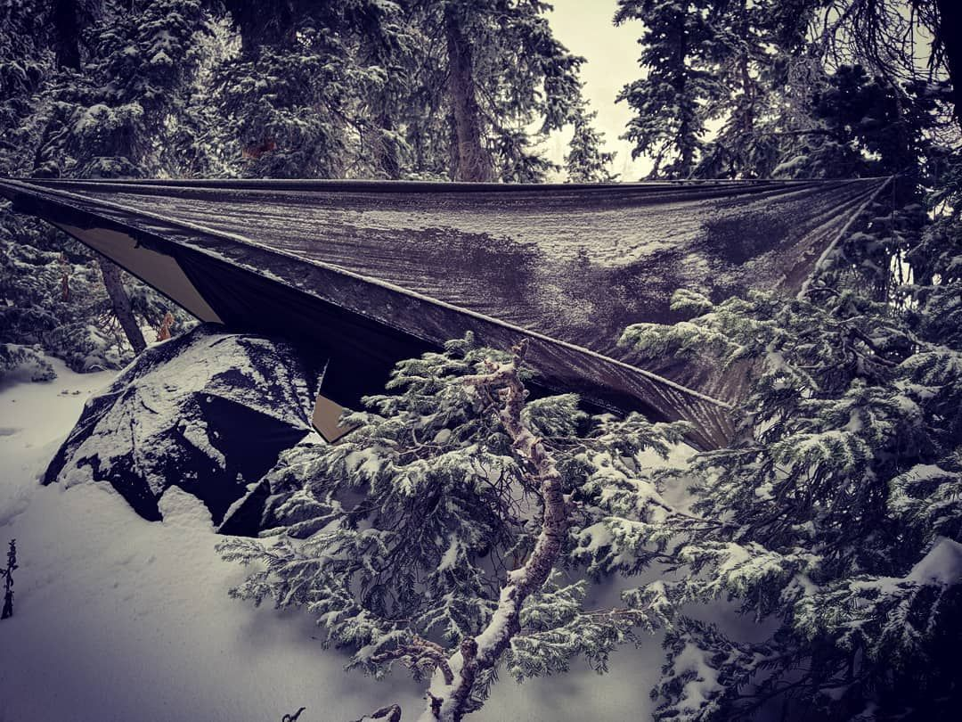 My Accomodations Last Night Hammockcamping Hennessyhammock