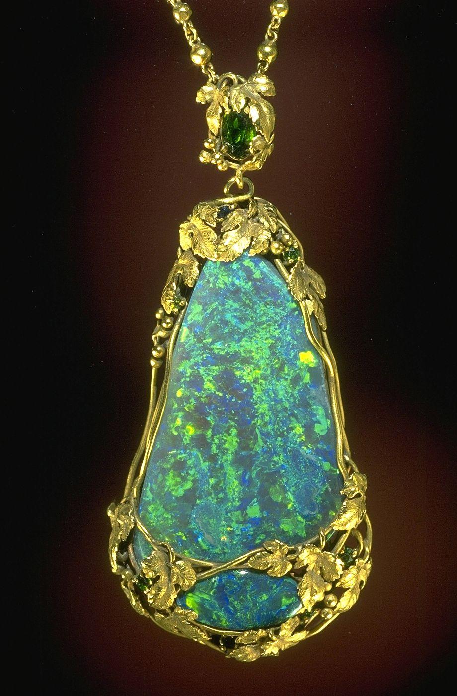 australian opals louis designed his jewelry of