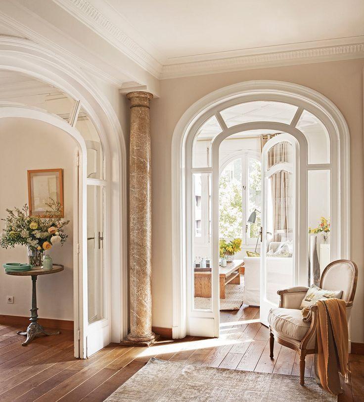 Resultado de imagen de puertas molduras entradas for Marcos puertas interiores