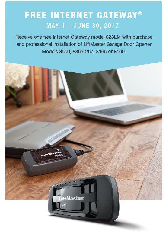Receive Rebate For One Free Internet Gateway 828 Lm Myq App