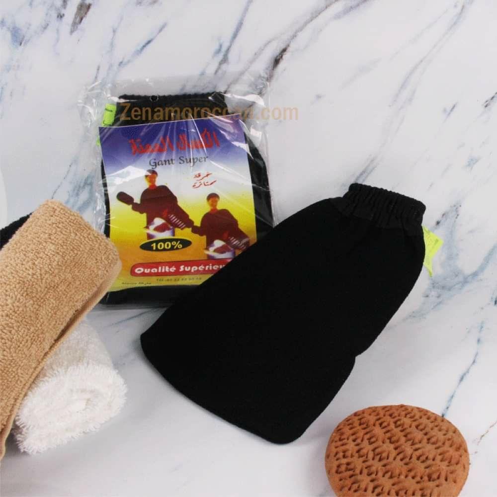 الليفة المغربية كسال الكيس Exfoliating Mitt Pure Products Coco Oil