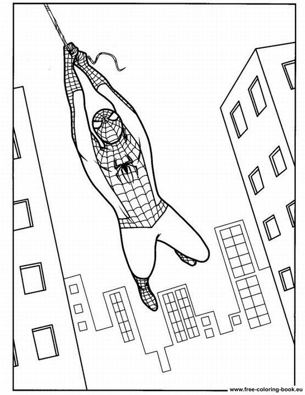 spiderman ice colouring pages colorist pinterest ice