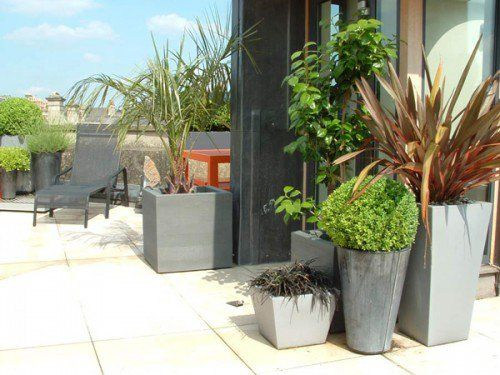Modern And Stylish Urban Rooftop Garden Design Ideas Comfortable Place