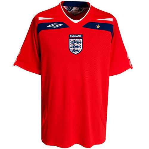 2008 2010 Away England Football Shirt Football Equipment England Away Kit