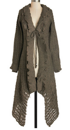 Pretty long cardigan http://rstyle.me/n/pi2ihnyg6 | Brown ...