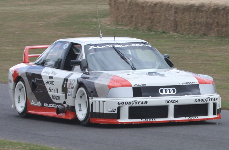 one of if not my absolute favorite racing cars of all time.  The 1989 IMSA GTO Audi 90 quattro