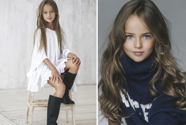 Menina Russa De 8 Anos E Considerada A Garotinha Mais Bonita Do