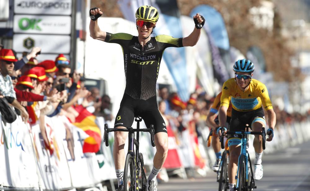 Jack Haig Wins Stage 4 Of The Ruta Del Sol In 2020 Lotto Soudal Granada Spain