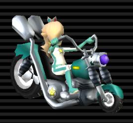 Rosalina In Her Wario Bike And So Pushy In Mario Kart Mario Kart