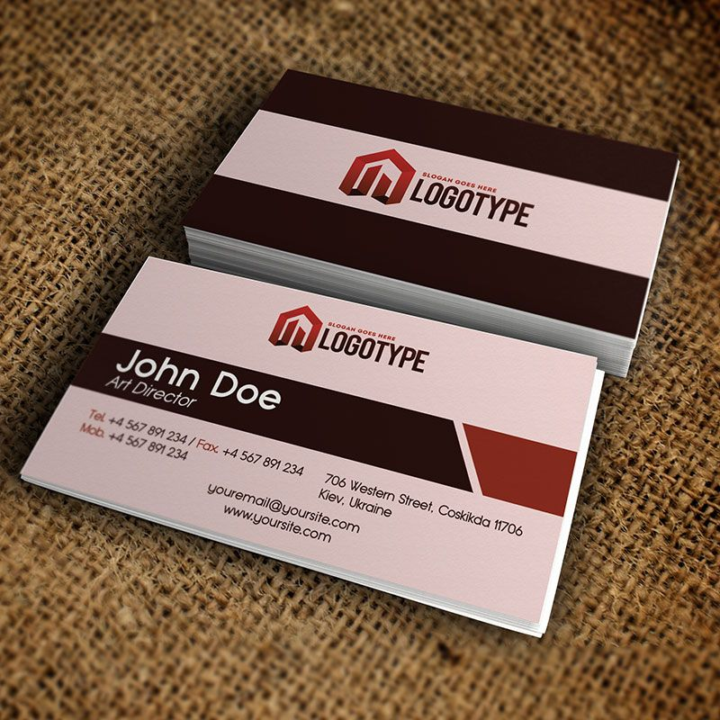 Corporate brown business card free psd template http corporate brown business card free psd template httpexclusiveflyer reheart Gallery