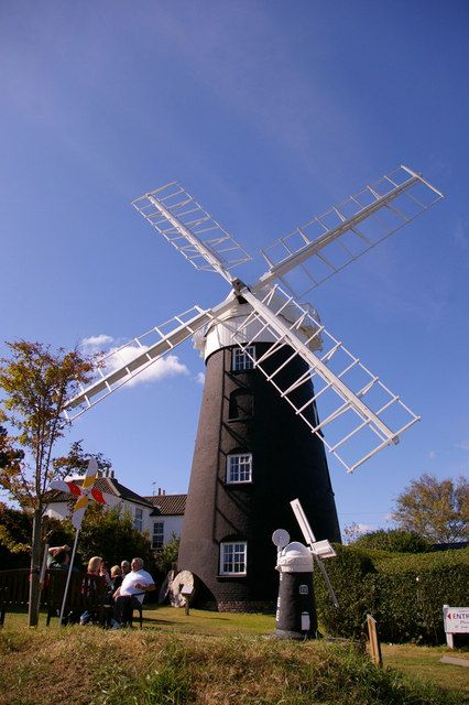 Two Windmills, Mundesley, Norfolk