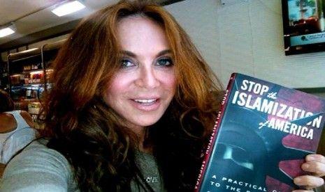 blogger dan aktivis anti-islam, pamela geller | Gambar