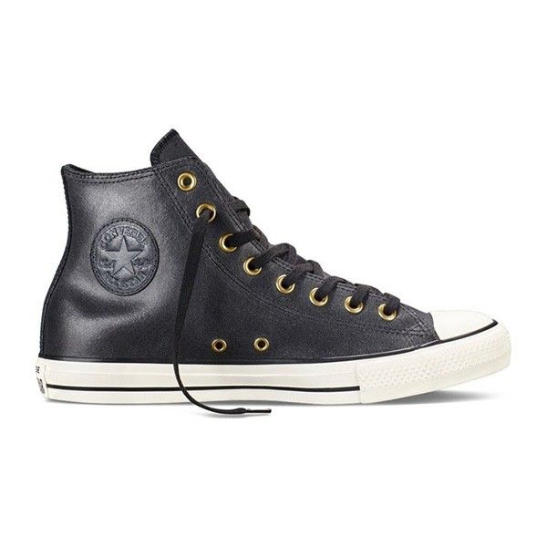 Chuck Taylor Vintage Leather- Black sneakers