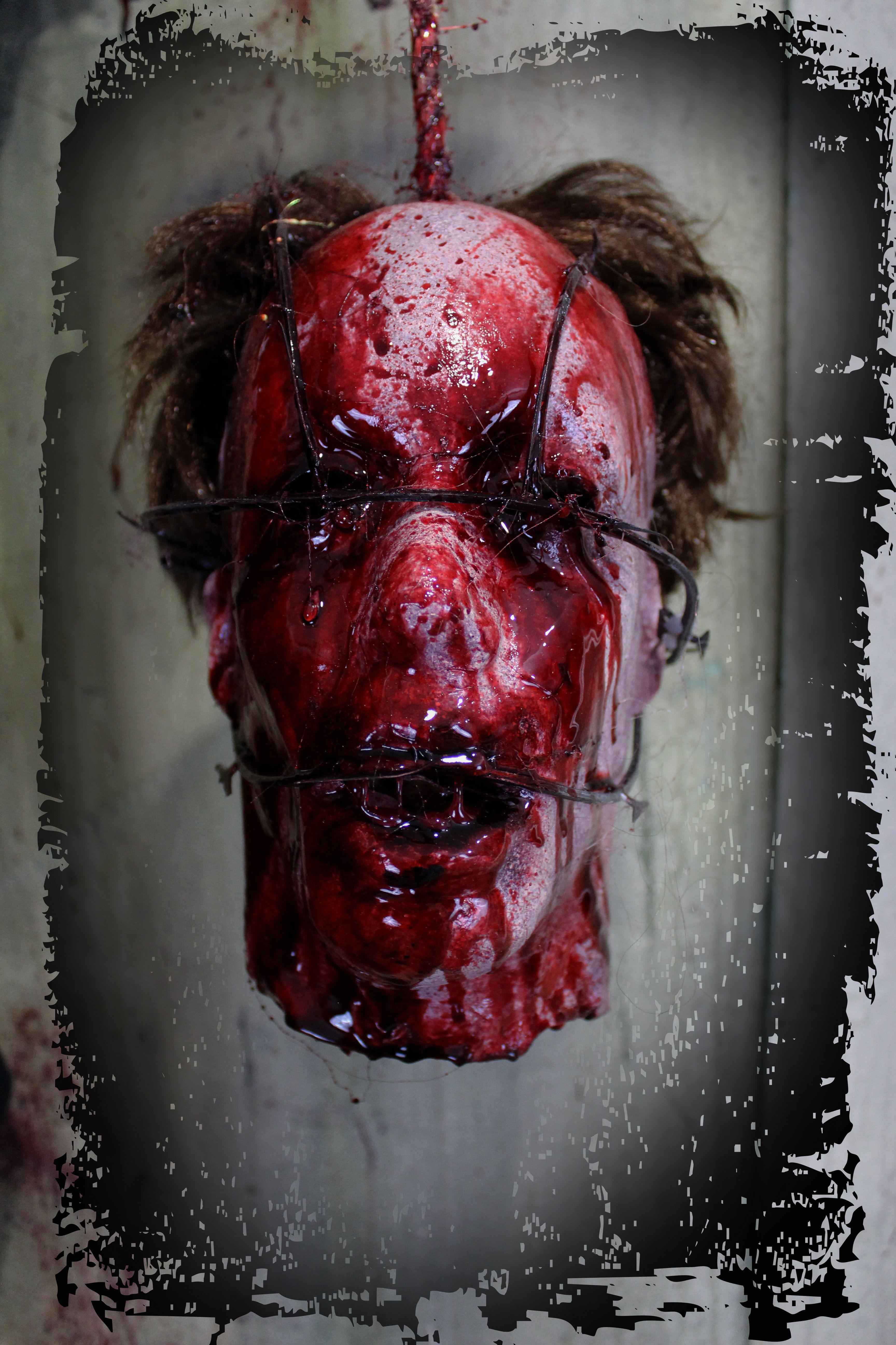 dead bodies and things for your haunted house and halloween decorations
