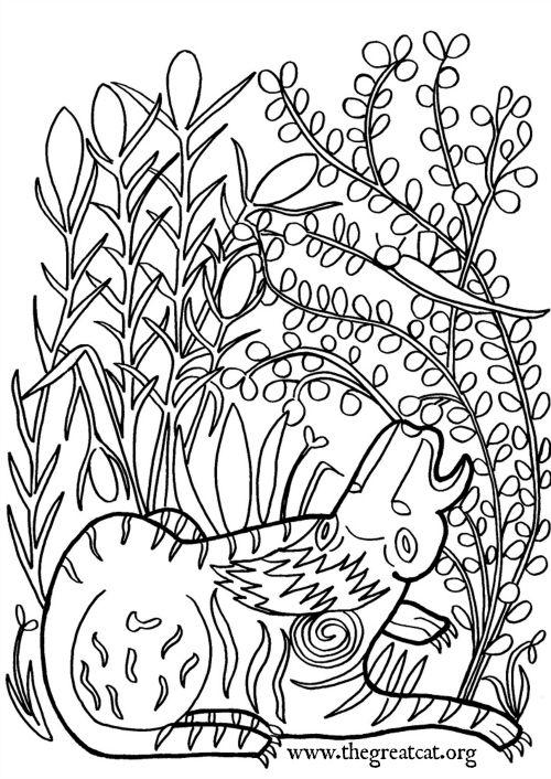 Lion 12 13th Century Catcoloringbook Adultcoloringbook Coloringbook Medieval Cats Coloring Book