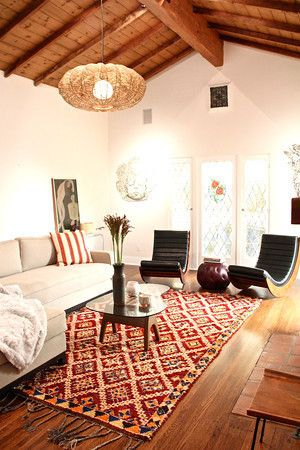 A Spanish Style Meets Mid C Home Eclectic Living Room Living Room Decor Living Room Modern