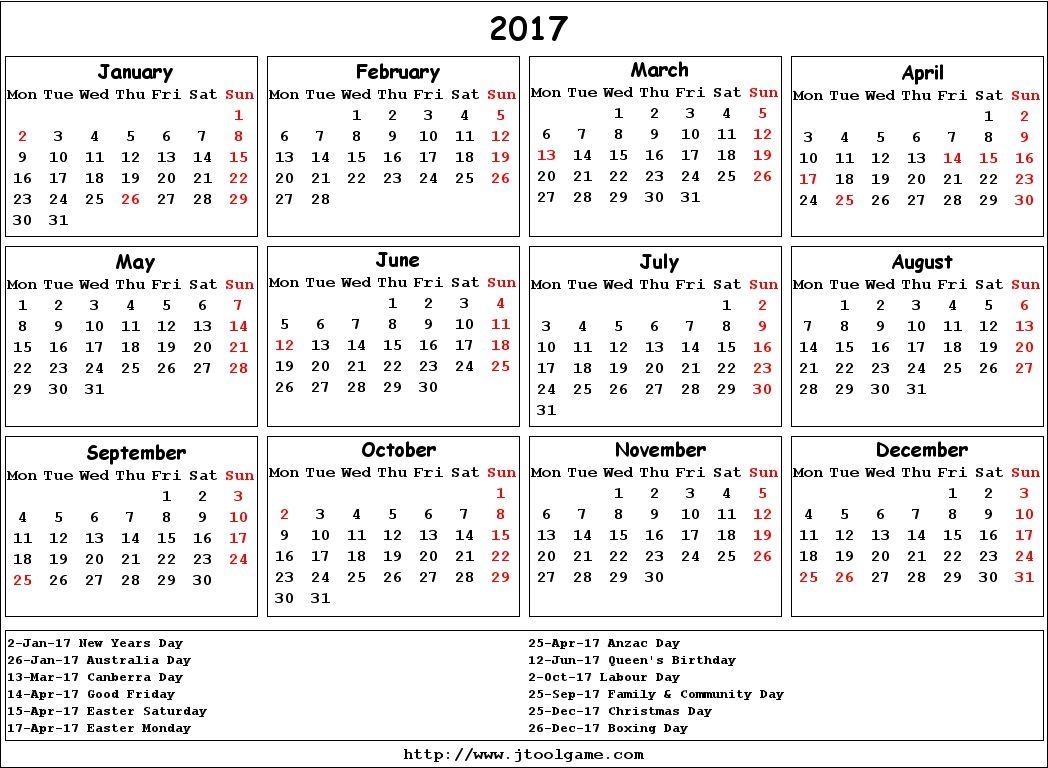Calendar Australia  School Stuff    Calendar