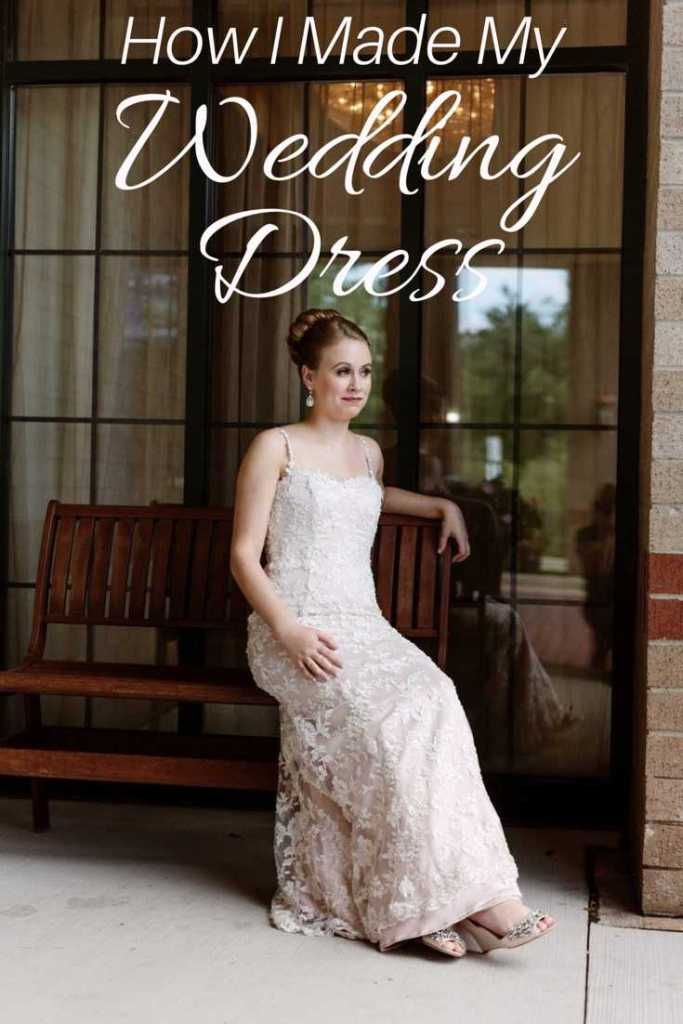How I made my own wedding dress. How to sew your own originally ...