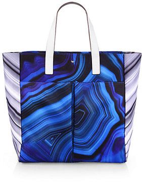 24f641fc00 Anya Hindmarch Printed Canvas Tote on shopstyle.com | Shoe and ...